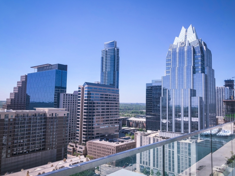 views from the westin austin tx