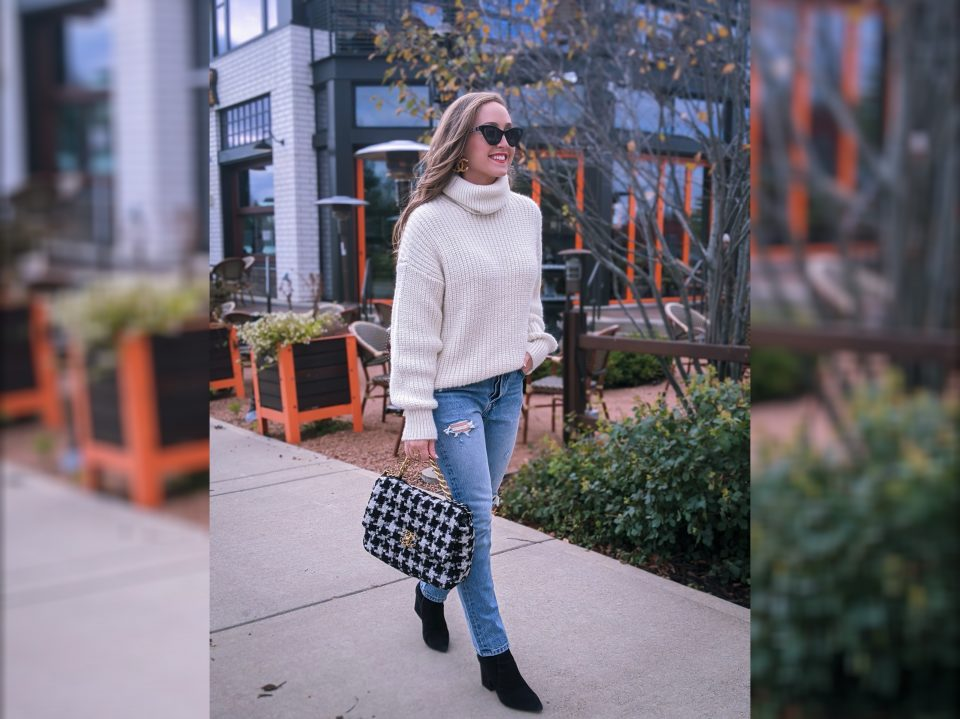 Jeans Under $100: Fall Outfit OOTD