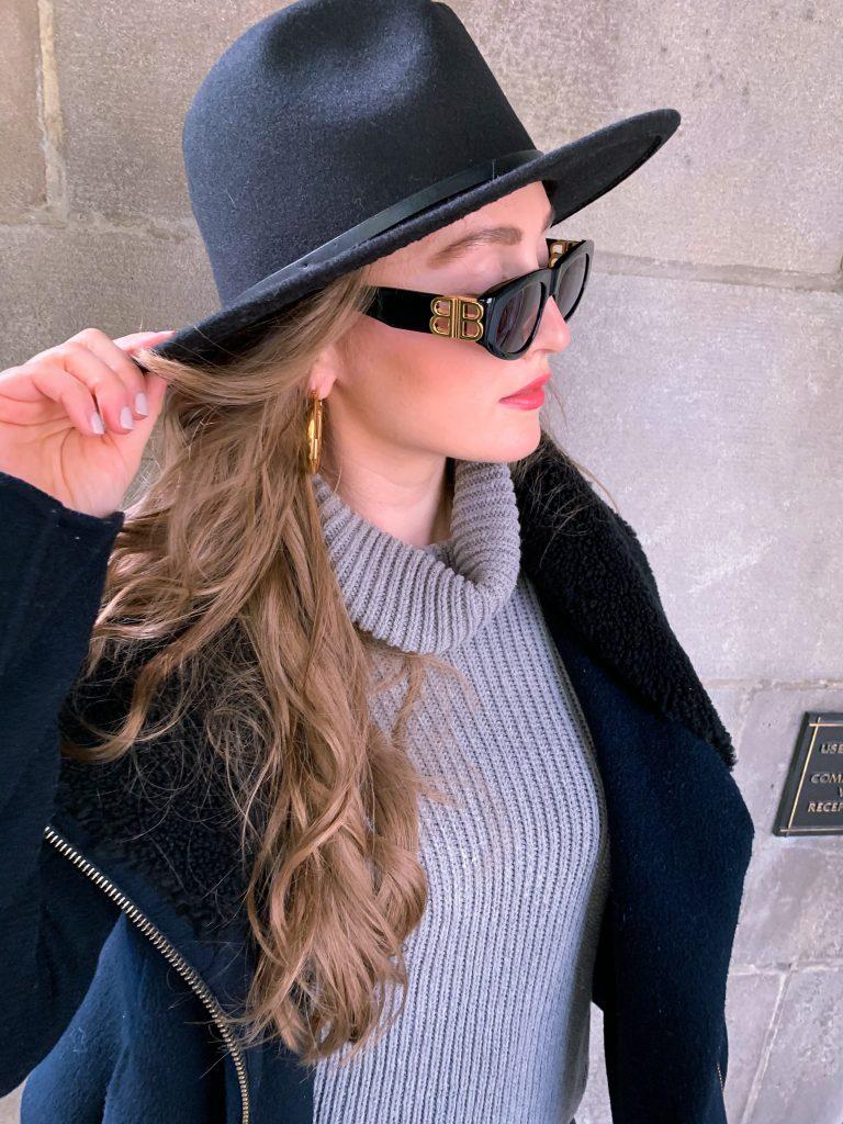 Fall Outfit #OOTD Balenciaga Sunglasses