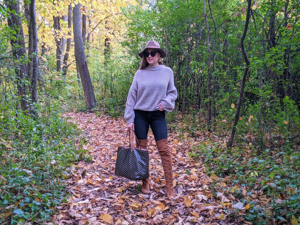Over The Knee Boot Outfit Inspo OTK Fall OOTD