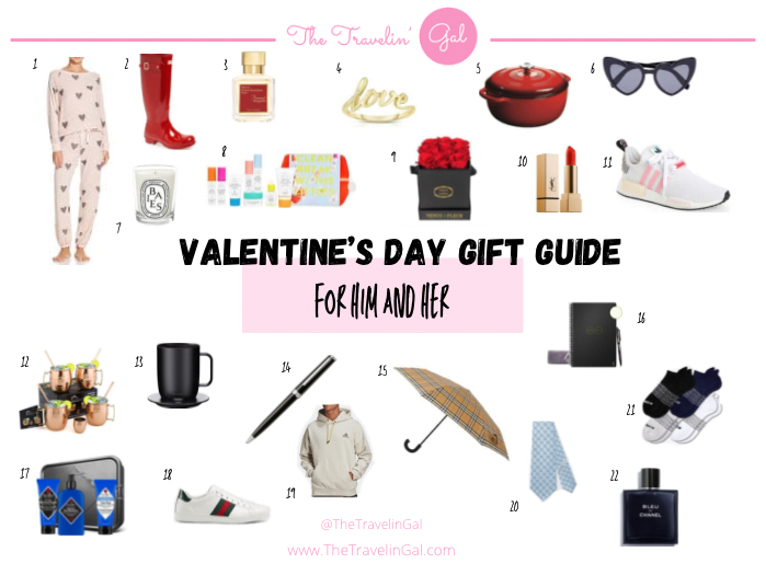 Valentine's Day Gift Guide for Him & Her: 2021