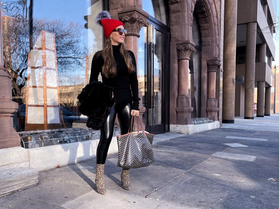 Leopard Booties Outfit: Must-have Leggings under $30