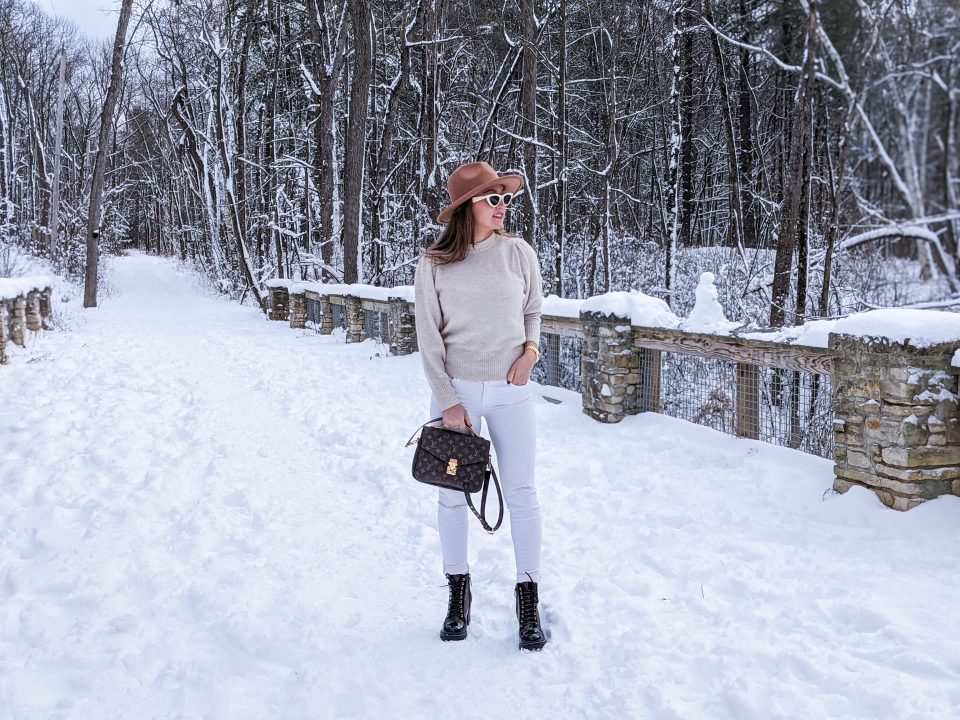 Louis Vuitton Star Trail Boots Review and Neutral Winter Outfit Inspo