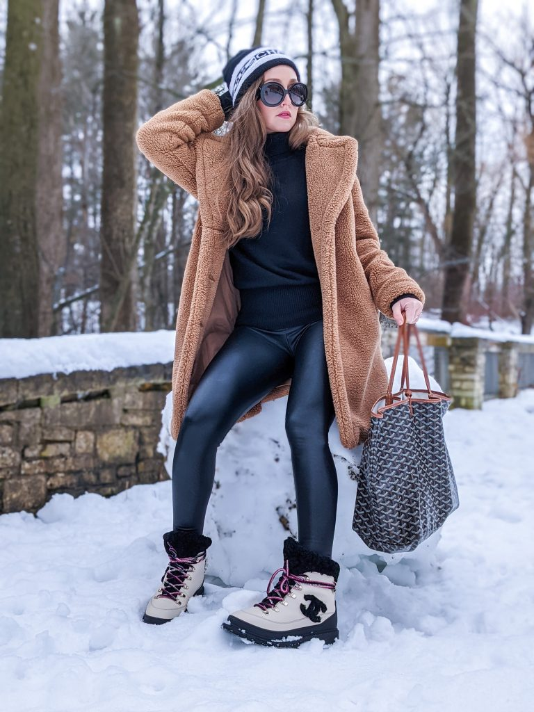 go-to winter outfit