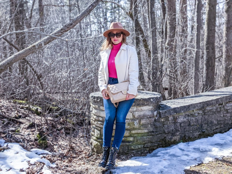 Transitional Spring Outfit OOTD