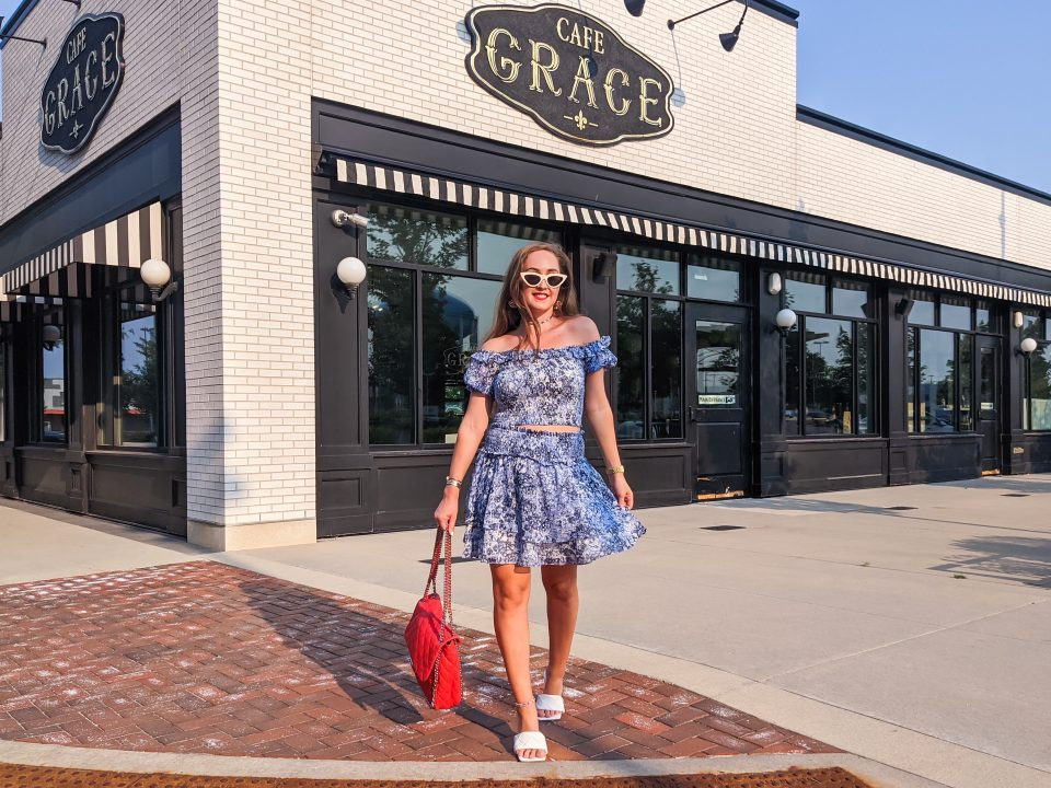 Happy 4th of July! Express OOTD and Bottega Veneta Look for Less