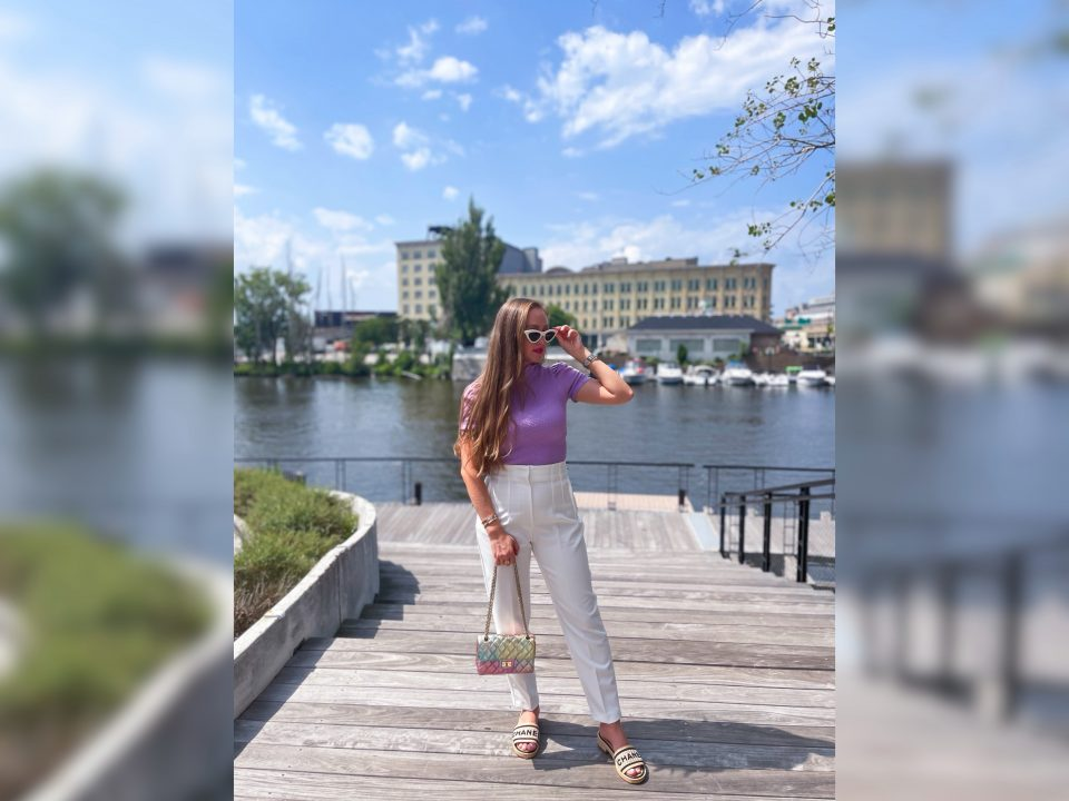Summer Office OOTD: High-Waisted Pants Under $50