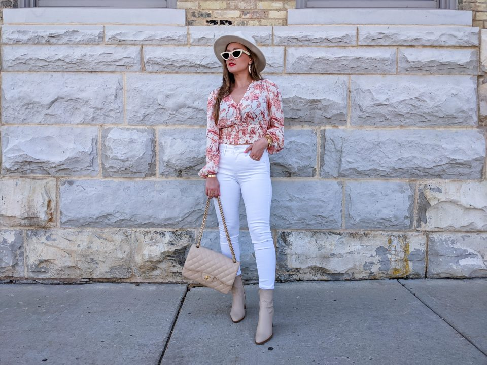 Transitional Fall Outfit OOTD: Neutrals from Express