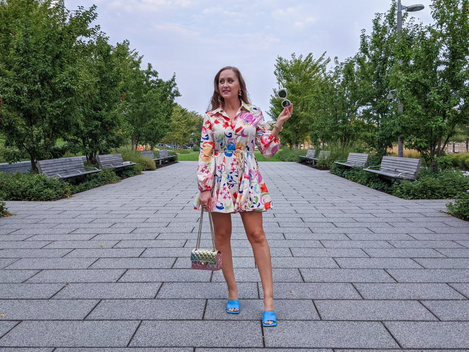 Transitional Fall Date Night Outfit: $20 Dress OOTD