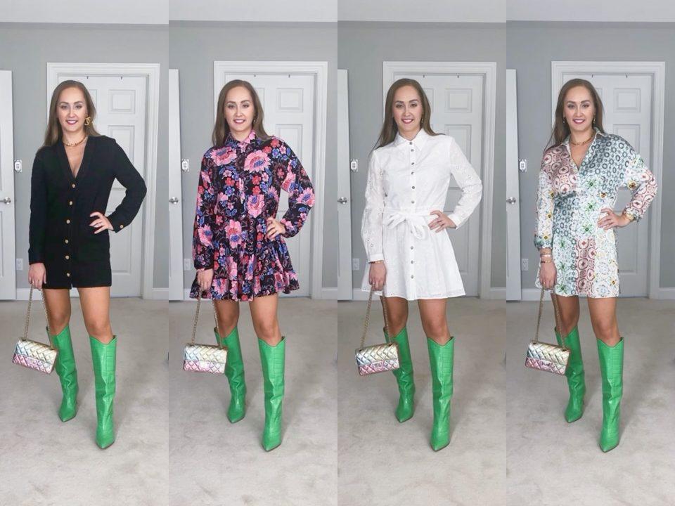 Zara Haul: 4 Dresses Reels